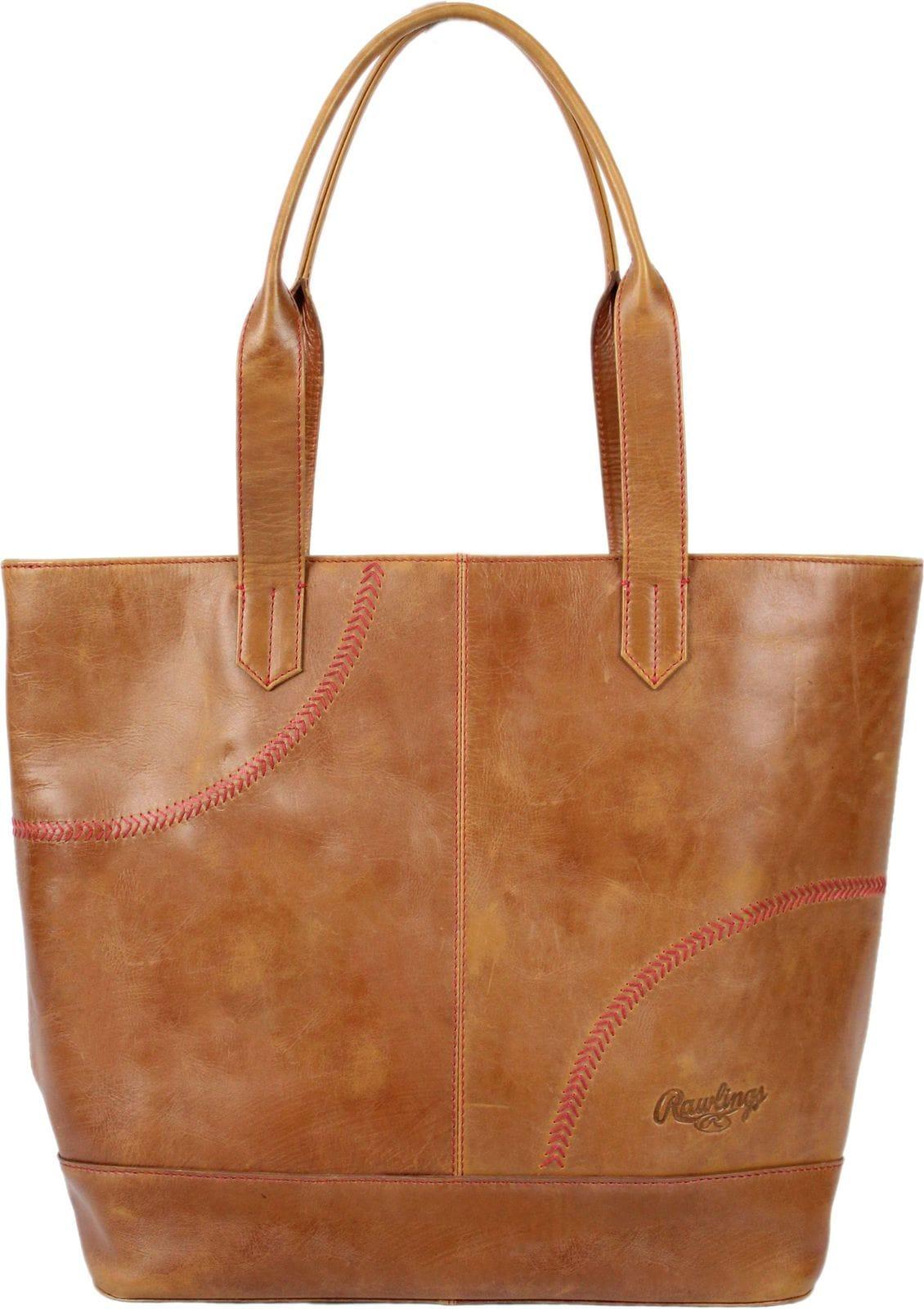 Rawlings leather tote bag