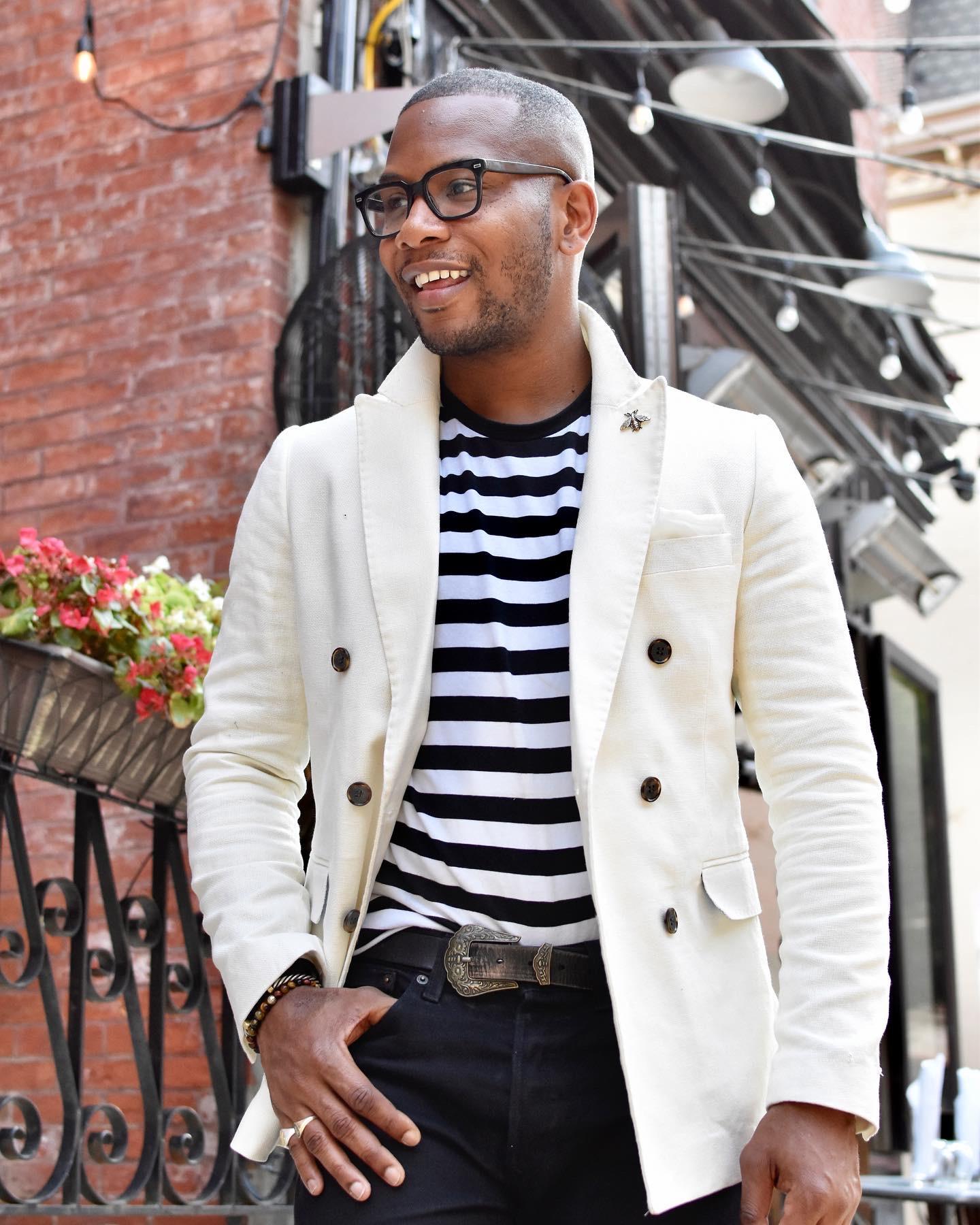 Black & White Nautical Styling For Mens via Men's Style Pro Blog